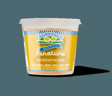 Happy Farm - Packaging Pangrattato Mediterraneo