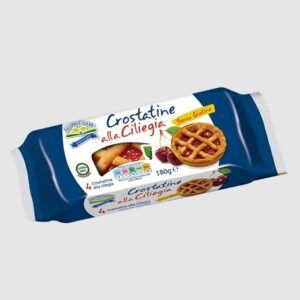 Crostatine alla ciliegia per celiaci