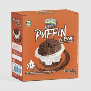 muffin al cacao per celiaci